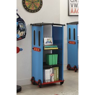 Zoomie Kids Nala Train Standard Bookcase