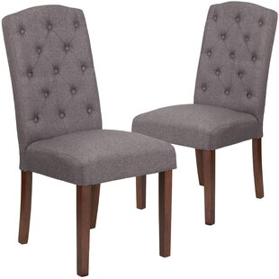 Orland Mid-Century Tufted Parsons Dining Chair (Set of 2)
