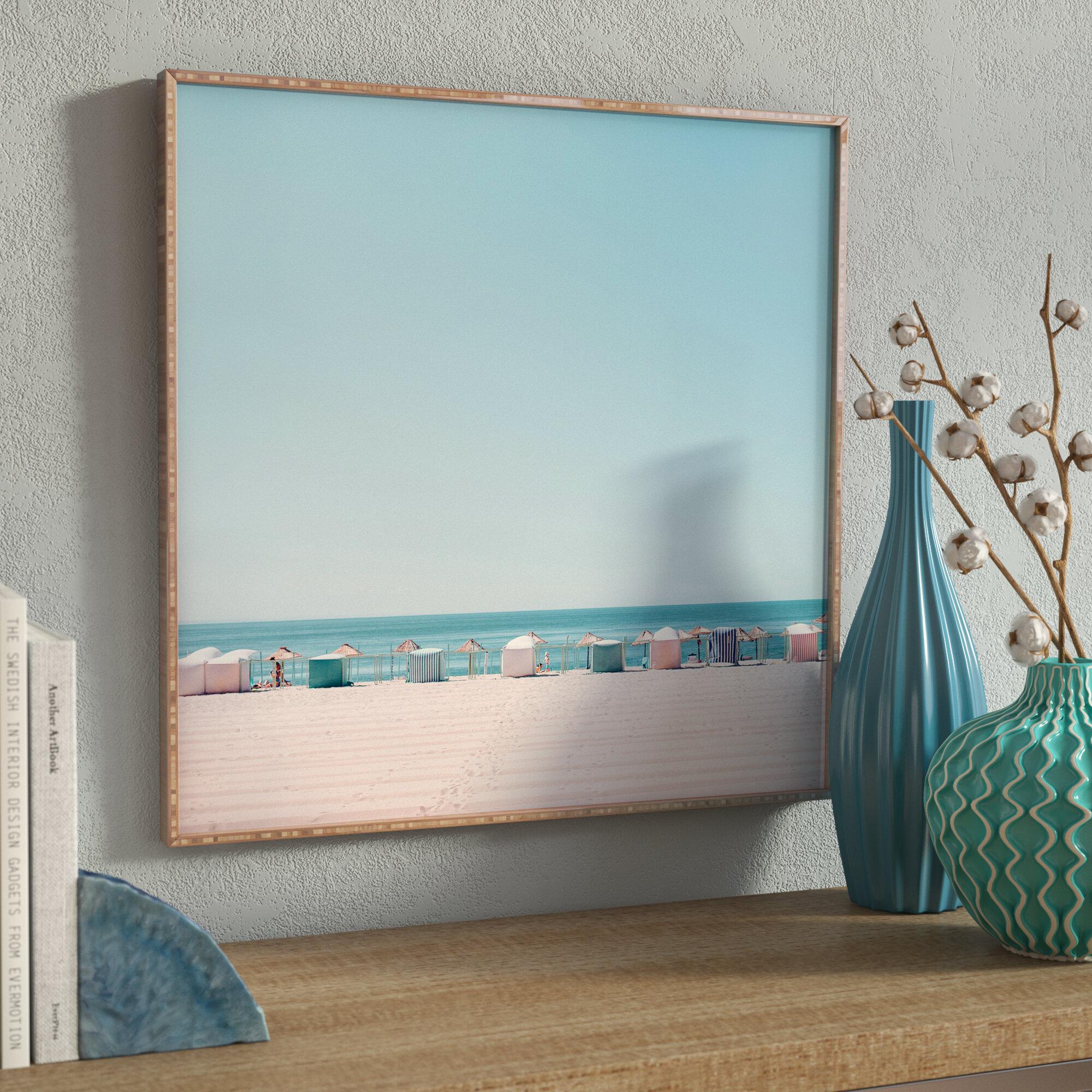 Beach Ocean Framed Wall Art You Ll Love In 2021 Wayfair