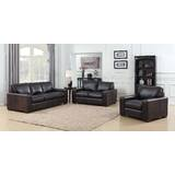 Priscila 3 Piece Leather Living Room Set by 17 Stories
