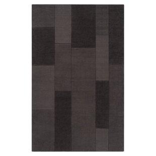 Juney Hand-Loomed Black/Gray Area Rug ByOrren Ellis