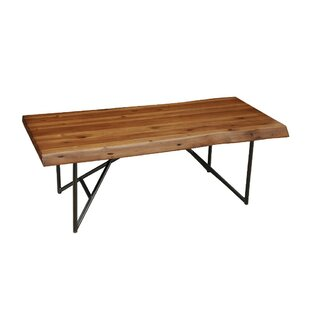 Alfred Acacia Wood Coffee Table by Foundry Select