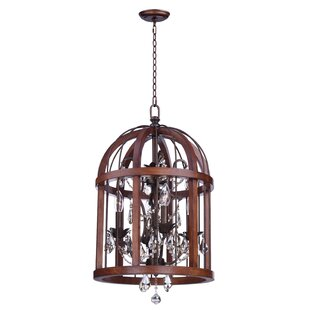One Allium Way Granville 4-Light Foyer Pendant