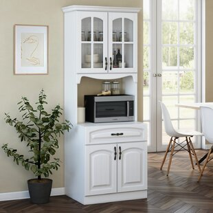 Microwave Pantry Cabinet Wayfair