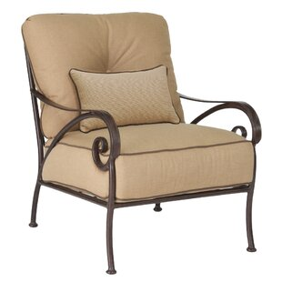 Leona Lucerne Patio Chair with Cushion