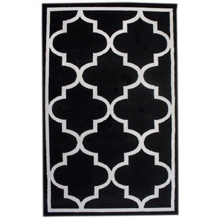 Compare & Buy Florine Black Area Rug By Everly Quinn