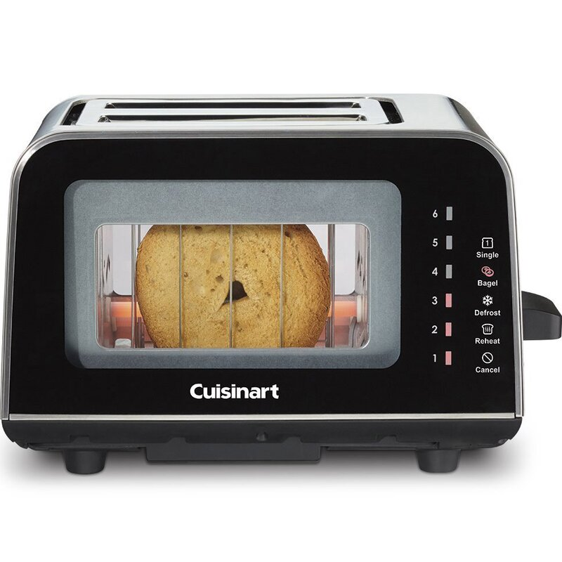 ViewPro 2 Slice Glass Toaster