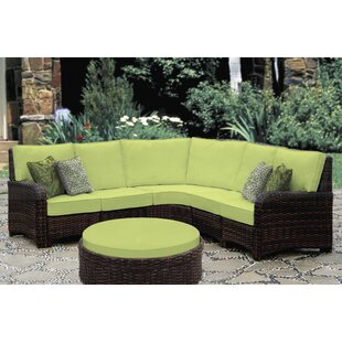 Spengler 5 Piece Sectional with Cushion
