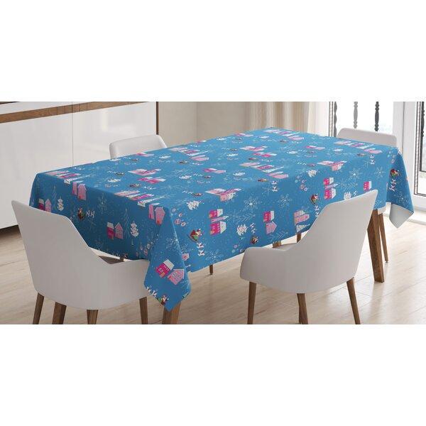 East Urban Home Christmas Tablecloth Wayfair