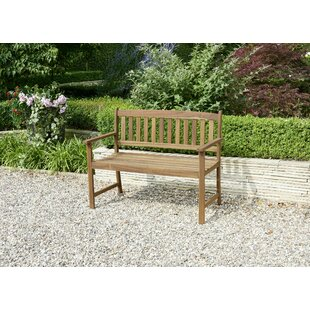 Elsberry Solid Wood Traditional Bench By Brambly Cottage