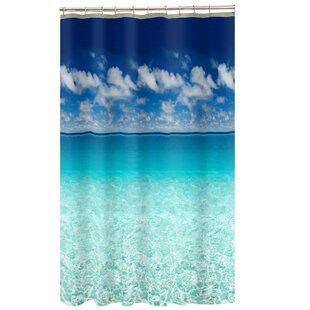 Best Sunderland Escape Ocean Photoreal Shower Curtain By Zoomie Kids