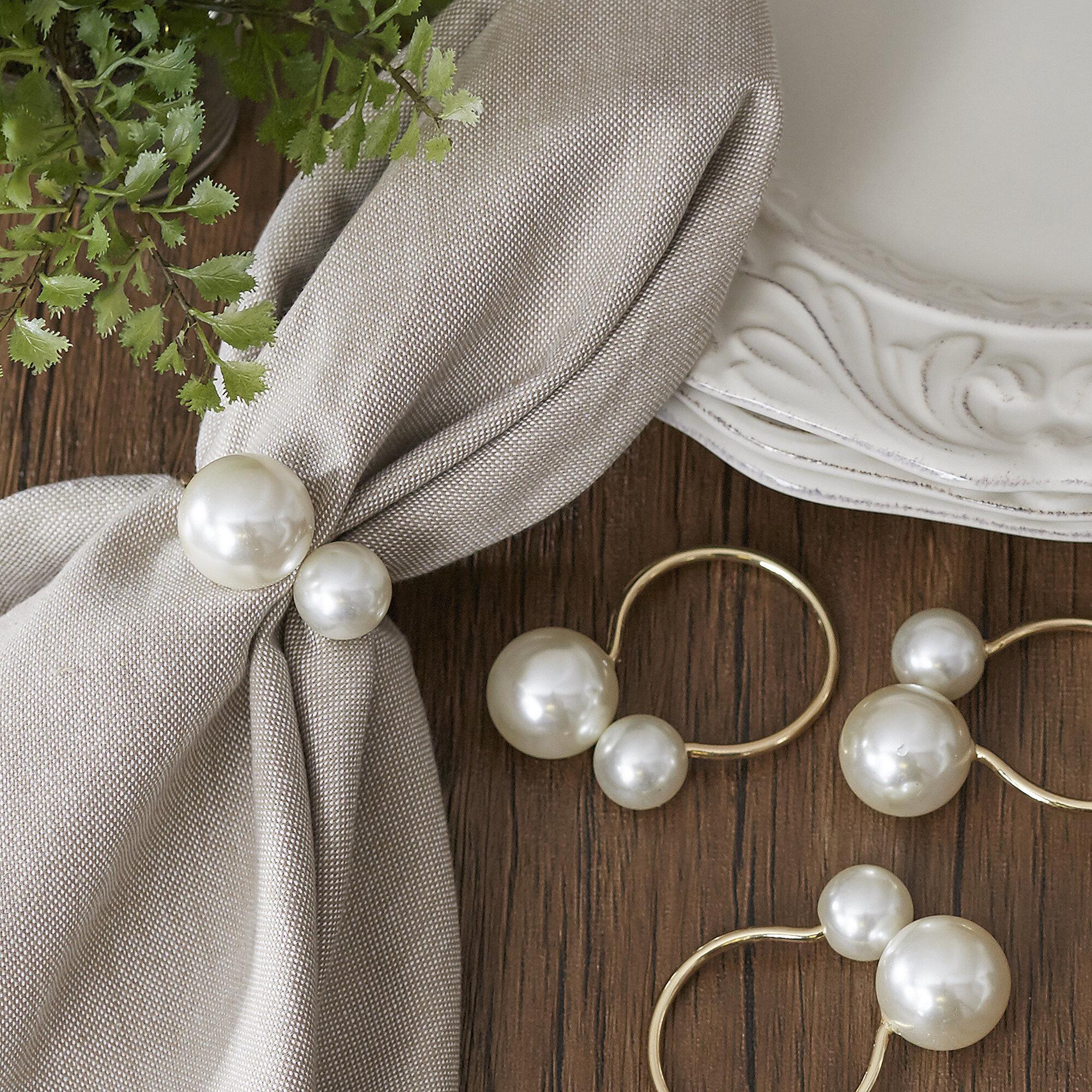 Pearl Napkin Rings Reviews Birch Lane