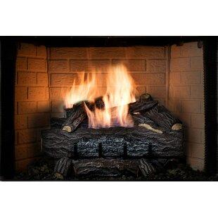 Gas Fireplace Log Inserts. Four Seasons Golden Eclipse Manual Burner and Log Set Natural Gas Fireplace Sets You ll Love  Wayfair