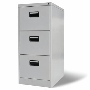 Brighton 3 Drawer Filing Cabinet By 17 Stories