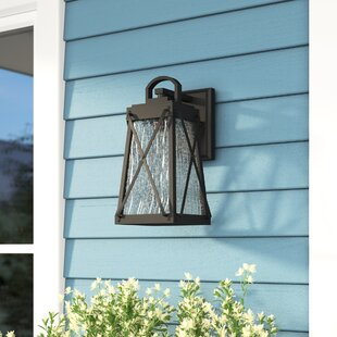 Find for Keansburg 1-Light Outdoor Wall Lantern By Gracie Oaks