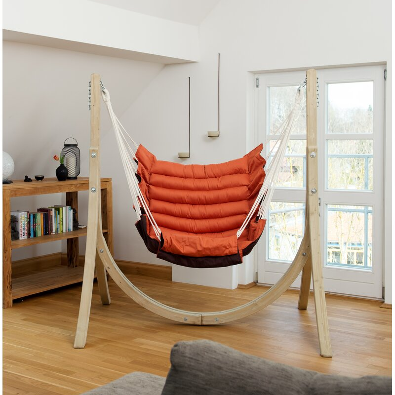 Freeport Park Hanging Chair With Stand Wayfair Co Uk