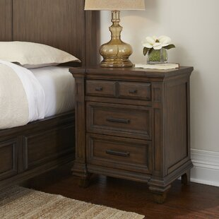 Bartlette 3 Drawer Nightstand
