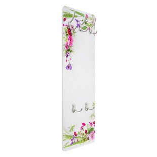 Flower Arrangement Wall Mounted Coat Rack By Symple Stuff
