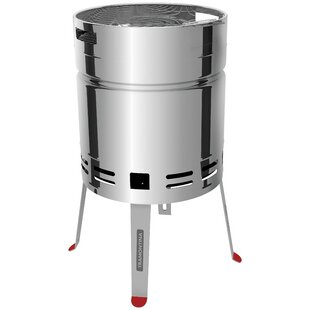 46.4cm Churrasco Portable Charcoal Barbecue By Tramontina