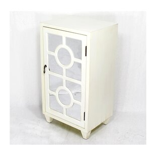 Garance Wooden 1 Door Accent Cabinet