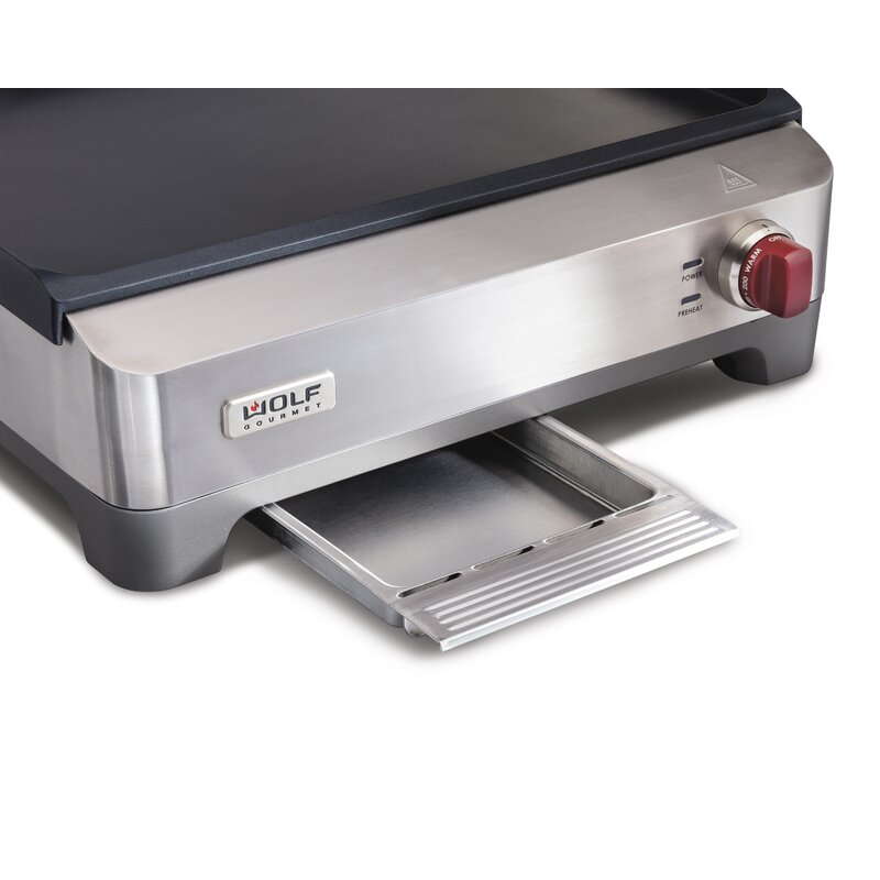 Wolf Gourmet Electric Griddle With Lid
