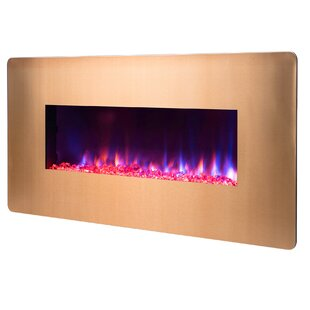 AKDY 3-in-1 3D Flames Wall Mounted Electric Fireplace