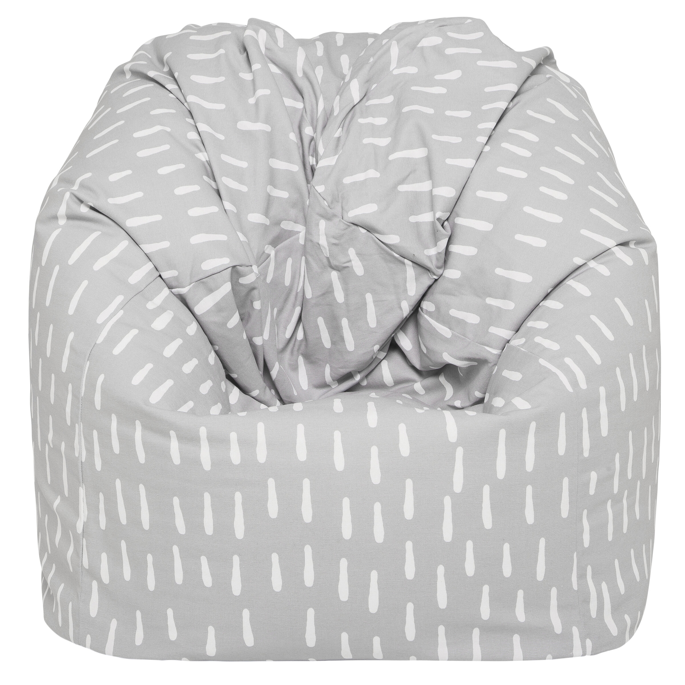 Isabelle Max Raindrops Small 100 Cotton Bean Bag Cover Wayfair