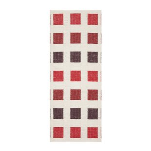 Cubo White Indoor/Outdoor Area Rug by Swedy