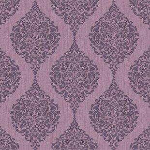 purple wallpaper you ll love wayfair