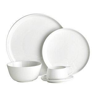 Marc Newson Bone China 20 Piece Dinnerware Set Service for 4  sc 1 st  AllModern & Dinnerware Sets - Modern u0026 Contemporary Designs | AllModern
