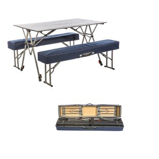 Shaylee Metal Camping Table