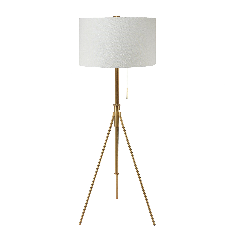 Orren Ellis Contemporary 71 Tripod Floor Lamp Reviews Wayfair
