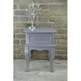 1 Drawer Bedside Table By Lily Manor