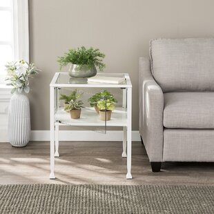Lombardi End Table with Storage by Latitude Run