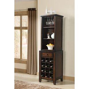 Vilo Home Inc. Tuscan Hills 12 Bottle Floor Wine Cabinet
