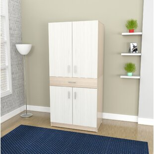 Latitude Run Bluxome Armoire Desk