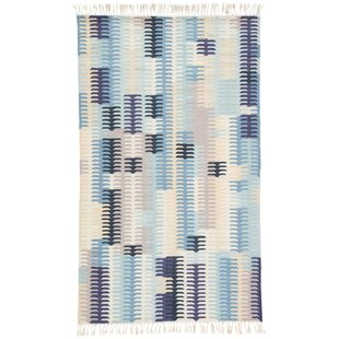 Afton Hand-Loomed Blue Indoor/Outdoor Area Rug