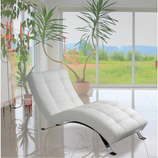 Cranon Top Grain Leather Chaise Lounge