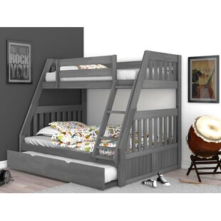 Willey Twin over Full Bunk Bed with Twin Trundle