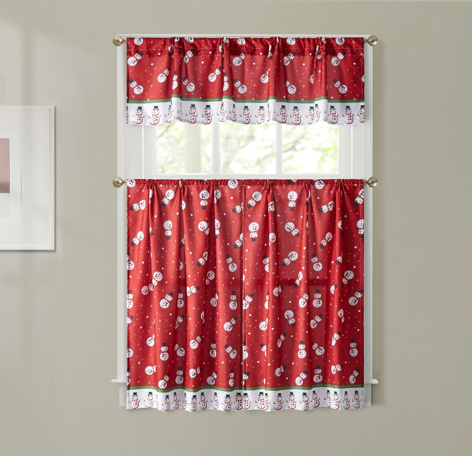 The Holiday Aisle Valances Kitchen Curtains You Ll Love In 2021 Wayfair