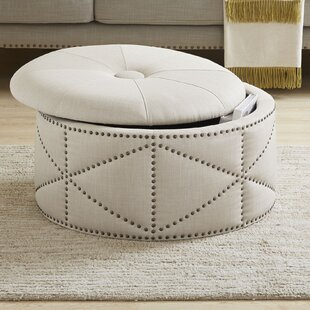Affordable Price Keturah Cocktail Storage Tufted Ottoman By House of Hampton