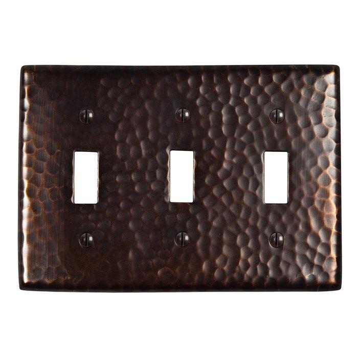 3 Gang Toggle Light Switch Wall Plate