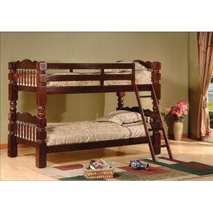 Low priced Trystan Twin over Twin Bunk Bed by Harriet Bee Reviews (2019) & Buyer's Guide