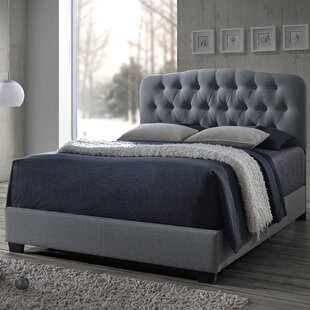 Chesser Upholstered Panel Bed by Charlton Home