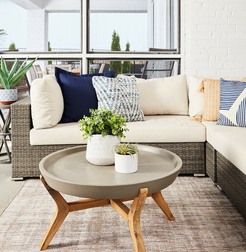 Peters 5 Piece Sectional Collection With Cushions Joss Main