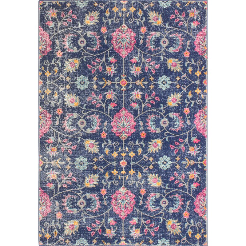 World Menagerie Northam Dark Blue Rug