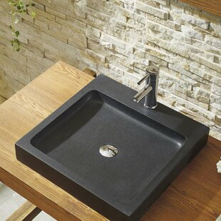 Reviews Nester Stone Circular Vessel Bathroom Sink By Virtu USA