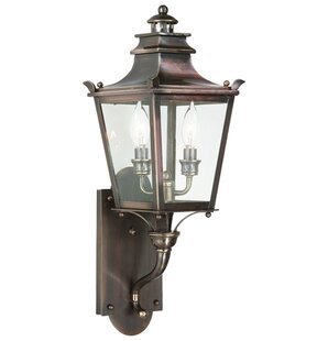 Annett 2-Light Outdoor Sconce by Darby Ho..