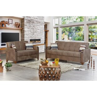 Great Price Meaney Leather Sleeper Living Room Set by Latitude Run Reviews (2019) & Buyer's Guide