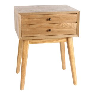 Mia Wright End Table by Langle..